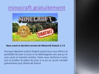 Minecraft Gratuit telecharger.pdf