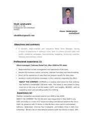 shaik new resume.doc