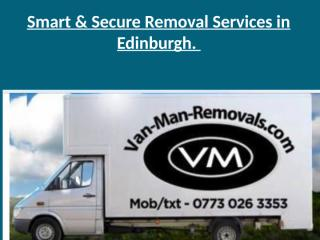 Smart & Secure Removal Services in Edinburgh.pptx