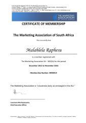 Individual Certificate of Membership - Malahlela RaphesuMASA.pdf