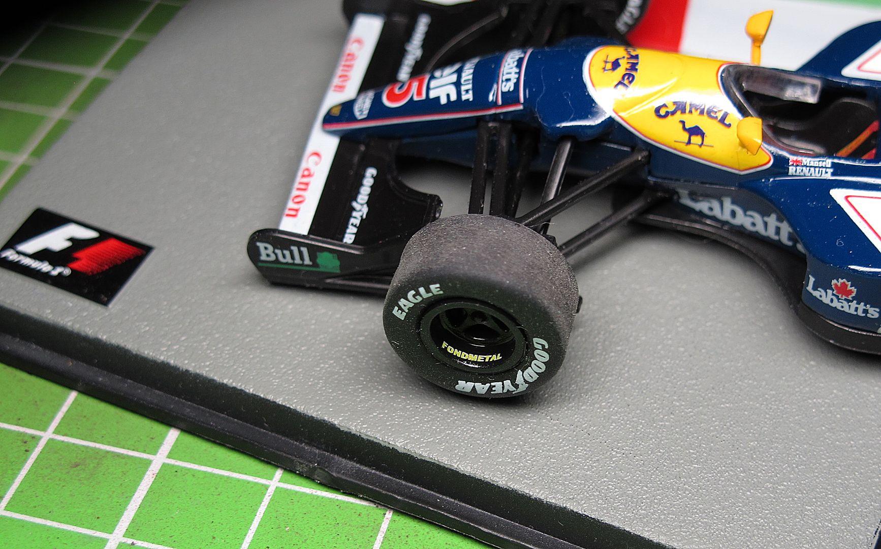 Formula 1 №7 - Williams FW14B - Найджел Манселл (1992)