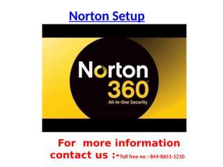 Norton.comSetup - Activiate Norton Setup.pptx
