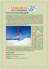 How to Learn Kitesurfing Quickly.pdf