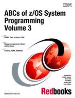 ABCs of zOS System Programming Volume 3.pdf