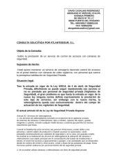 CONSULTA VIDEOVIGILANCIA.doc