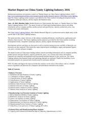 Market Report on China Vanity Lighting Industry 2016.doc