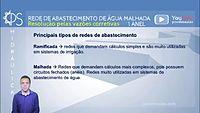 ENGENHARIA Hidráulica 07 - Cálculo Rede de Abastecimento de Água 1 Anel - Malhada Vazões Corretivas.mp4