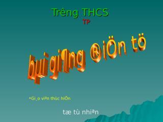 (2) Rut gon bieu thuc chua can thuc bac hai.ppt