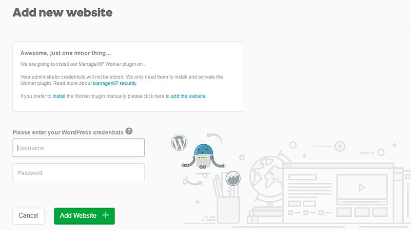 Add_new_website Login