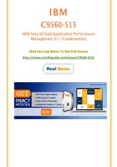 CertifyGuide C9560-515 PDF Questions With Answers.pdf