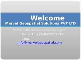 Marvel Geospatial Solutions PVT LTD.pptx