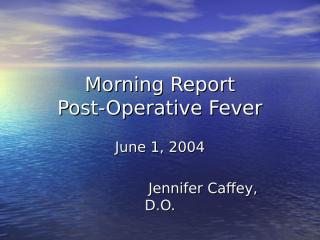 postop_fever.ppt