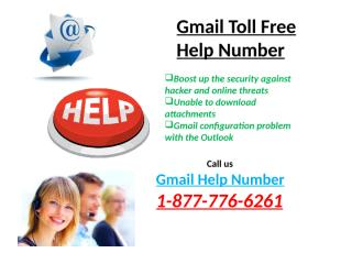 Gmail –Toll- Free -Help -Number (2).pptx
