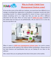 Why to Prefer Child Care Management System ccms.pdf